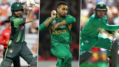 Pakistan Squad For Sri Lanka T20I 2019 Series: Ahmed Shehzad, Umar Akmal and Faheem Ashraf Included in Team for PAK vs SL Matches