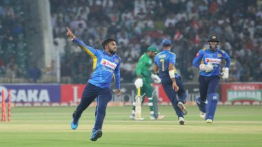 Pakistan vs Sri Lanka 3rd T20I 2019, Match Result: Sri Lanka Beat the Hosts by 13 Runs, Seal the Series 3–0
