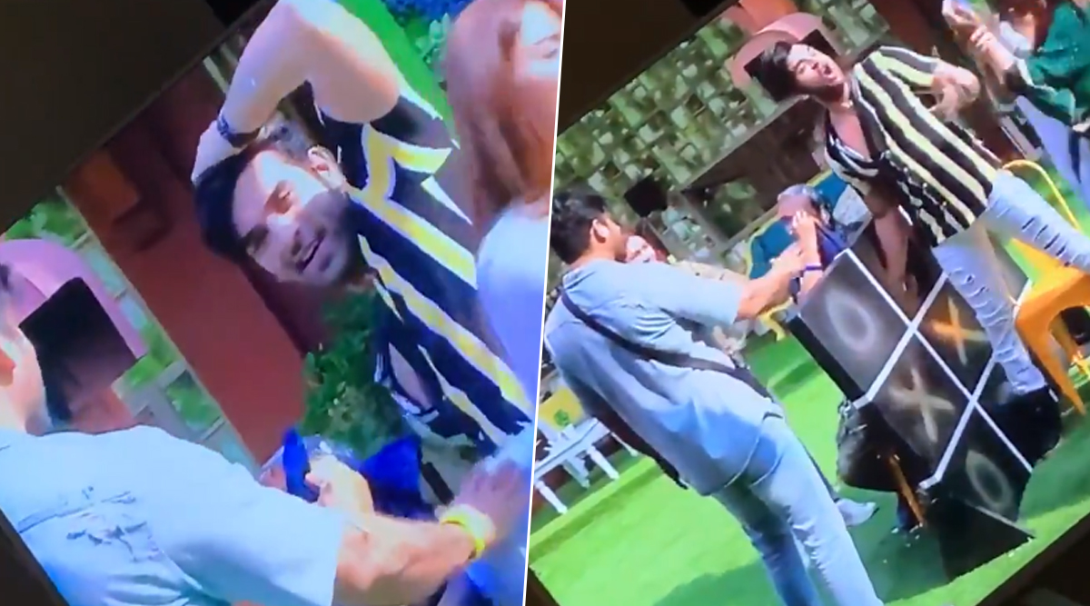 Bigg Boss 13: A Video of Paras Chhabra Apparently Trying to Save His Wig Goes Viral After Asim Riaz Claims He Is Bald!