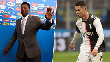 Cristiano Ronaldo Will Surpass Pele As the Best Scorer in Football History, Says Juventus Forward's Manager Jorge Mendes
