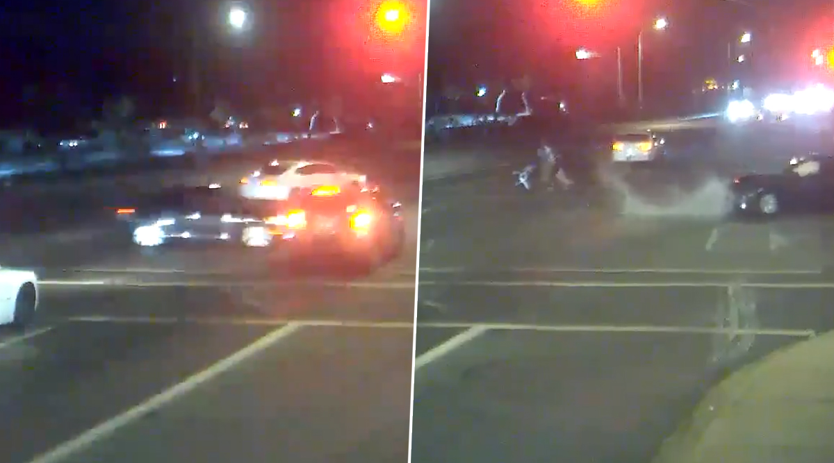 Phoenix Couple Miraculously Saved as Car Crashes into Another Car Jumping Red Signal, Accident Video Goes Viral