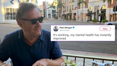 Piers Morgan Takes a Dig at Students Who Posed in Birthday Suit to Promote Mental Health and People Are Disgusted But Not Surprised