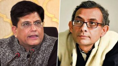 'NYAY Scheme Rejected by India': Piyush Goyal Jabs 'Left-Leaning' Nobel Laureate Abhijit Banerjee