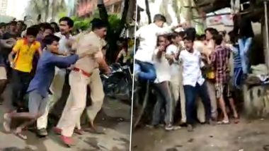 Tension in Chembur, Policemen Assaulted by Mob After Missing Girl's Father Commits Suicide Alleging Inaction, Watch Video