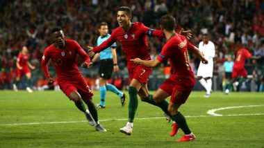 Portugal vs Luxembourg, UEFA EURO Qualifiers 2020 Live Streaming Online & Match Time in IST: How to Get Live Telecast of POR vs LUX on TV & Football Score Updates in India
