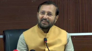 Prakash Javadekar Gets Charge of Heavy Industries Ministry After Shiv Sena's Arvind Sawant Quits Central Government