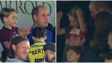 Video of Prince George Cheering For His Favourite Soccer Team Alongside Parents Prince William And Kate Middleton Goes Viral
