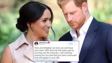 Prince Harry Sues The Sun and Daily Mirror For Phone-Hacking Scandal & Targeting Meghan Markle, Twitterati Trend #IStandWithTheSussexes in Support of Royal Family