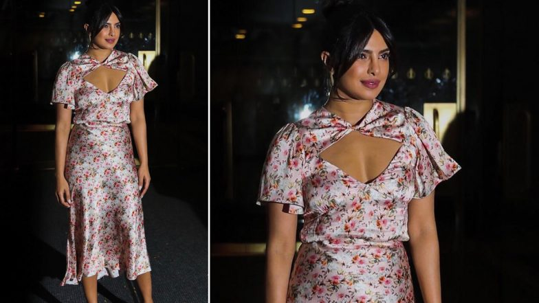 The Price of Priyanka Chopra Jonas' Floral Outfit Will Dent Your Bank Balance (View Pics)