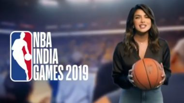 Priyanka Chopra Steps Into the Sports Arena, Gets Roped by NBA India as an Ambassador (Watch Video)
