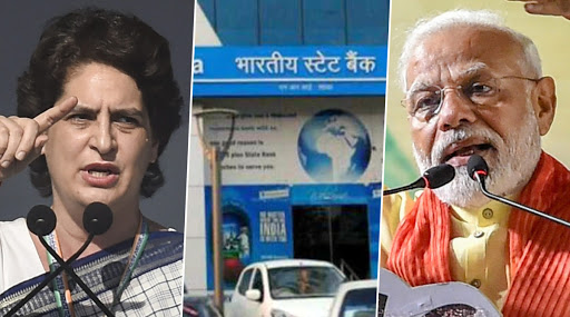 Priyanka Gandhi Lambasts Narendra Modi Govt After SBI Writes Off Bad Loans Worth Rs 76,600 Crore of 220 Defaulters, Asks 'Who Took The Money?'