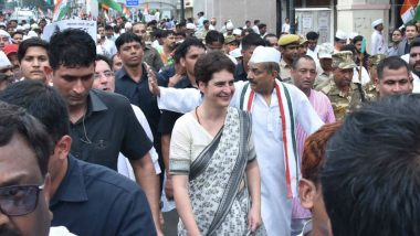 Priyanka Gandhi Flays Yogi Adityanath Government After Uttar Pradesh Tops in Crimes Against Women