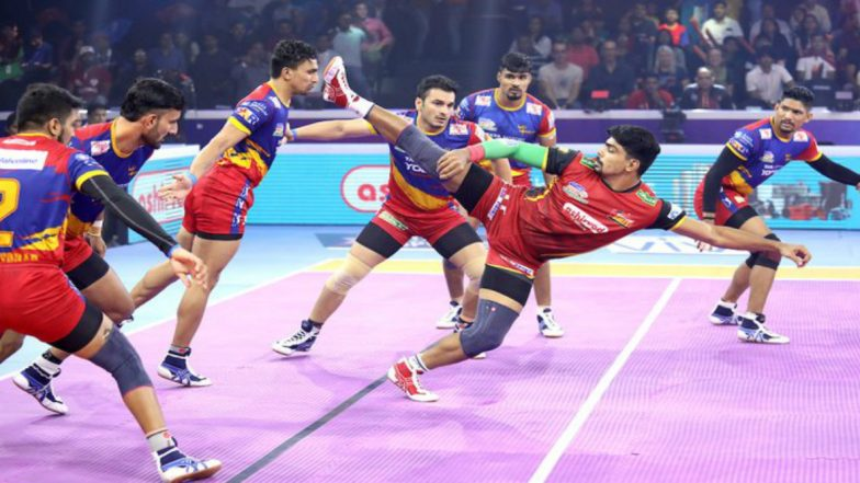 PKL 2019 Match Results & Report: Bengaluru Bulls Edge Out UP Yoddha in Extra Time to Enter Semifinal