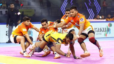 PKL 2019 Match Result: Puneri Paltan Edge Out Tamil Thalaivas 53-50 at Tau Devi Lal Stadium