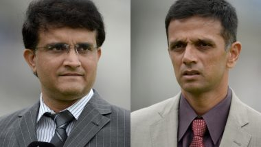 BCCI President Sourav Ganguly Meets Rahul Dravid to Discuss Roadmap to Improve NCA