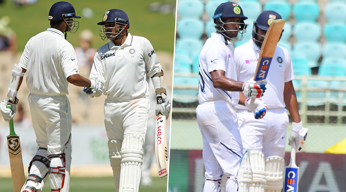 Rohit Sharma, Mayank Agarwal Stitch Third-Highest Opening Stand for India in Test Cricket, Know About the Top-Two Partnerships