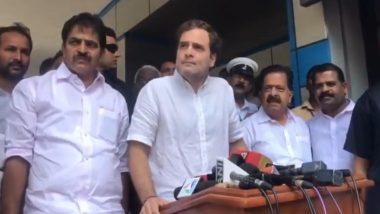 Rahul Gandhi Hits Out at Modi Government Over Economic Slowdown, Says PM Narendra Modi Should Discuss Unemployment