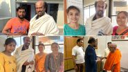 Rajinikanth Goes on a Trip to Himalaya, Meets and Greets Devotees (View Pics)