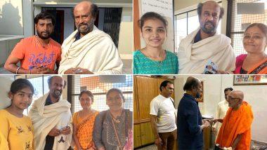 Rajinikanth Goes on a Trip to Himalaya, Meets and Greets Devotees (View Pics)