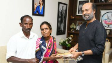 Rajinikanth Keeps His Promise, Hands Over Keys of Newly-Built House to Cyclone Gaja Victims