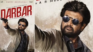 Darbar Poster: Rajinikanth's Swagger Look is The Perfect Diwali Treat to All Thalaivaa Fans! (View Pic)