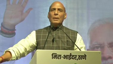 Rajnath Singh Slams Congress For 'Allowing' UK Arm to Reach Jeremy Corbyn Over Kashmir Issue