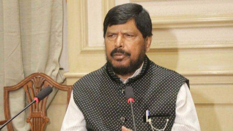 Ramdas Athawale Tests Positive For COVID-19, Union Minister Admitted to Bombay Hospital as Precautionary Measure
