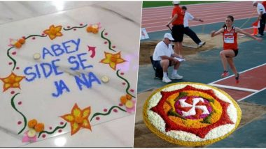 Diwali Rangoli Funny Memes Are Trending Online! People Share Jokes and Ideas to Not Spoil Rangoli Designs Made For Deepavali 2019 Decoration