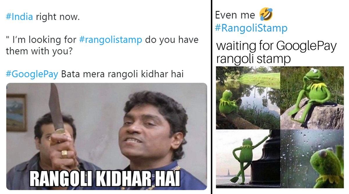How to Get Rangoli Stamps on Google Pay? The Only Question That's Bothering Everyone Participating in #StampsWaliDiwali (Check Funny Memes and Tweets)