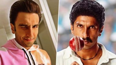 Ranveer Singh Shaves off His Kapil Dev Biopic Moustache, Posts His New Look with a Witty Caption (View Pic)
