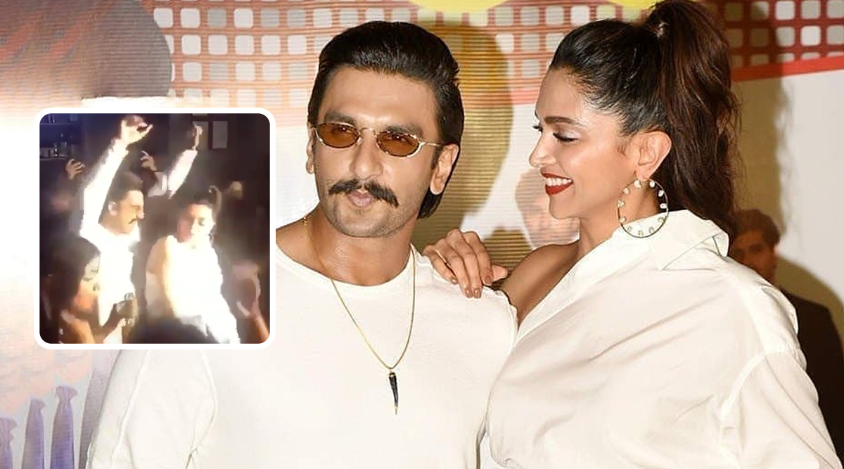 Ranveer Singh and Deepika Padukone Dance Like No One's Watching on Befikre's Nashe Si Chadh Gayi at 83 Wrap-Up Bash (Watch Video)
