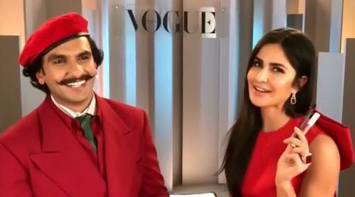 Katrina Kaif Puts Kay Beauty Kajal On Ranveer Singh And Then This Happens (Watch Video)