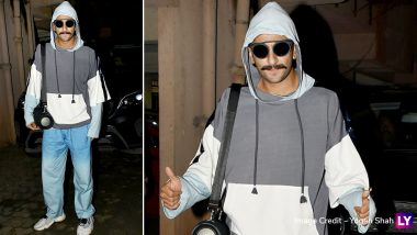 After Deepika Padukone, Husband Ranveer Singh Spotted at Sanjay Leela Bhansali's Office and We Wonder What's Cooking (View Pics)