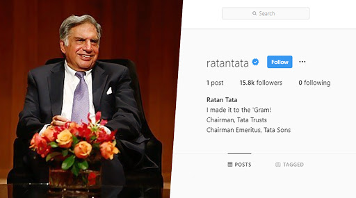 Ratan Tata Joins Instagram, Thousands of Followers Welcome Tata Trust Chairman on The Photo Sharing App