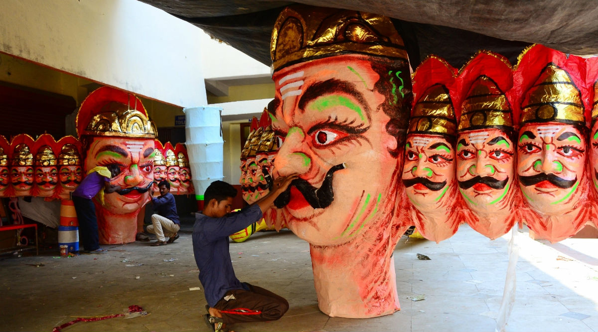 Ravan Dahan 2019 at Ramlila Maidan Live Streaming Online: Watch Burning of Ravana Effigy at Delhi's Iconic Ground on Dussehra