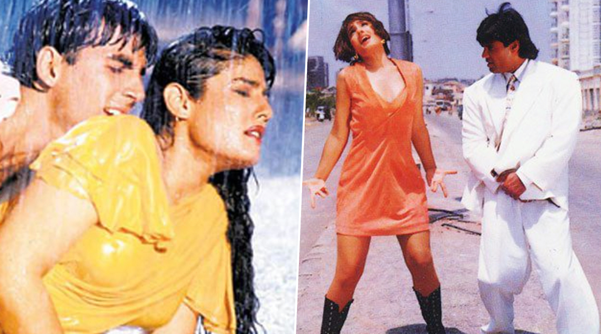 Raveena Tandon Birthday: 7 Songs of Bollywood's Own Sheher Ki Ladki That Will Make You Want to Shake Your Booty (Watch Video)