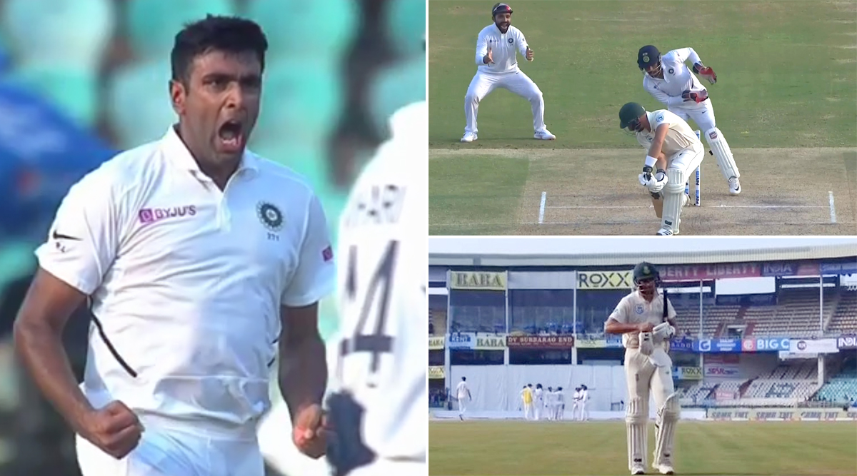 Ravi Ashwin Produces a Beauty to Send Aiden Markram Back on Day 2 of First India vs South Africa Test Match at Visakhapatnam