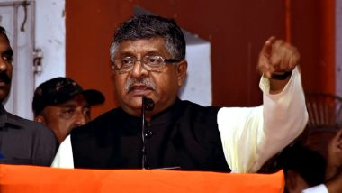 Ravi Shankar Prasad Tweets After Facing Flak For His 'Movies & Economy' Remark, Says 'Outlined That Fundamentals of Indian Economy Are Strong'