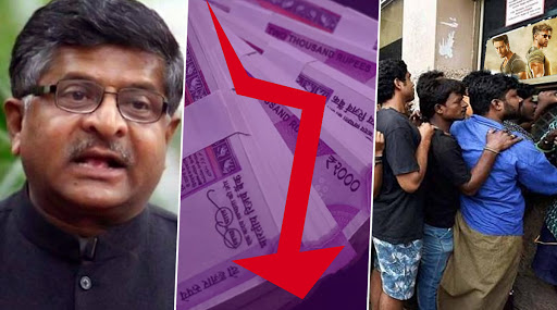 Ravi Shankar Prasad Dismisses Economic Slowdown in India, Quotes 3 Movies' Earning of Rs 120 Crore on Oct 2 to Back His Claims; Watch Video