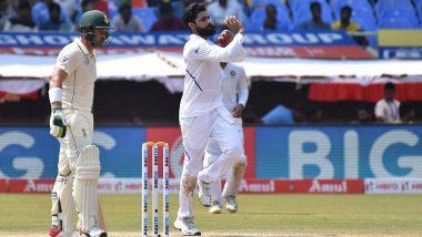 IND vs SA 1st Test 2019: Ravindra Jadeja Fastest Left-Arm Bowler to Reach 200 Test Wickets