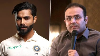 Ravindra Jadeja Upset With Virender Sehwag For Ignoring His All-Round Performance? Retweets a Troll's Negative Comment About Viru on Micro-Blogging Platform!