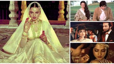 Rekha Birthday Special: From Utsav to Lajja, 7 Incredible Performances of the Evergreen Diva That We Want to Recommend to a Bollywood First-Timer