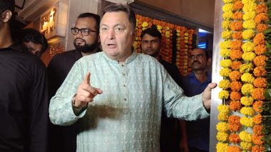 Rishi Kapoor Firmly Asks Photographers To Behave At Ekta Kapoor's Diwali Bash (Watch Video)