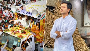 Maharashtra Elections 2019: Riteish Deshmukh Remembers Father Vilasrao Deshmukh After His Brothers Win Seats in Latur (View Pics)