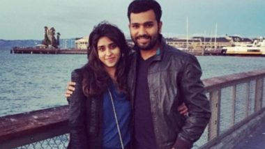 Rohit Sharma & Ritika Sajdeh Put Up Adorable Posts for Each Other on Their 4th Wedding Anniversary