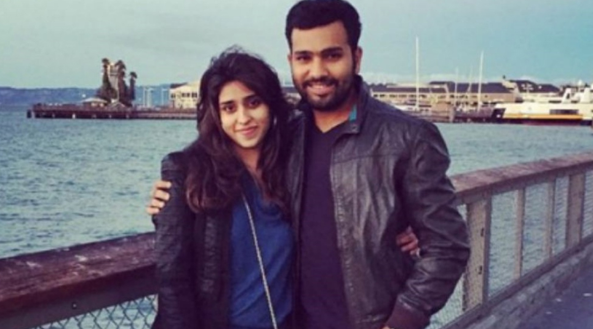 Rohit Sharma's Wife Ritika Sajdeh Applauds Indian Opener's Spectacular Batting in IND vs SA 2019 Test Series, Says 'So Proud of You Baby' (See Instagram Post)