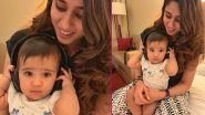 Rohit Sharma's Daughter Samaira Looks Adorable Posing With Mom Ritika Sajdeh in This Cute Photo on Instagram!