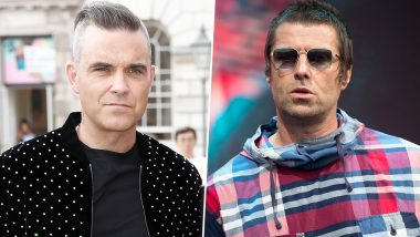 Robbie Williams Wants His Feud with Liam Gallagher to Be Resolved with a Charity Boxing Match, Says 'I'd Be More than Happy to Get in the Ring with Him'