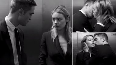 Robert Pattinson and Camille Rowe's Hot Kissing Session From 'The Elevator' Dior Perfume Video Goes Viral