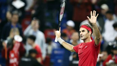 Roger Federer Thanks Supporters, Says 'Fans Inspired Me to Reach Shanghai Masters Quarter-Finals'